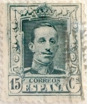 Stamps Spain -  15 céntimos 1923