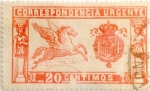 Stamps : Europe : Spain :  20 céntimos 1925