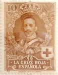 Stamps Spain -  10 pesetas 1926