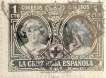 Sellos de Europa - España -  1 céntimo 1926