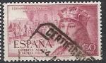 Sellos de Europa - España -  ESPAÑA SEGUNDO CENTENARIO USD Nº 1113 (0) 1,3P LILA ROSACEO FERNANDO EL CATOLICO