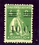 Stamps Portugal -  Diosa Ceres Sobrecargados