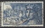 Sellos de Europa - España -  ESPAÑA SEGUNDO CENTENARIO USD Nº 1115 (09 2,3P AZUL CLARO FERNANDO EL CATOLICO.