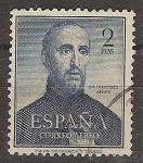 Stamps Spain -  ESPAÑA SEGUNDO CENTENARIO USD Nº 1118 (0) 2P AZUL FRANCISCO JAVIER
