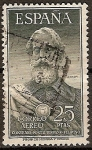 Stamps Spain -  ESPAÑA SEGUNDO CENTENARIO USD Nº 1124 (0) 25P VERDE GRISACEO LEGAZPI