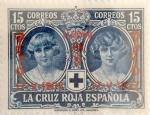 Sellos de Europa - España -  15 céntimos 1927
