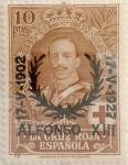 Stamps Spain -  10 pesetas 1927