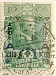 Stamps Spain -  10 céntimos 1927