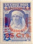 Sellos de Europa - España -  55 sobre 2 céntimos 1927