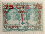 Sellos de Europa - España -  75 sobre 30 céntimos 1927