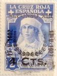 Sellos de Europa - España -  4 sobre 2 céntimos 1927