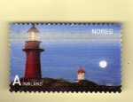 Stamps : Europe : Norway :  Scott 1521. Faro.