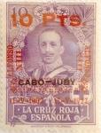 Sellos de Europa - España -  10 pesetas sobre 10 pesetas 1927