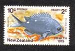 Sellos del Mundo : Oceania : Nueva_Zelanda : Chromis