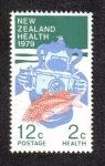 Stamps New Zealand -  Goatfish