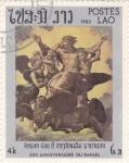 Stamps Laos -  500 Aniversario de Rafael