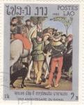 Sellos de Asia - Laos -  500 Aniversario de Rafael