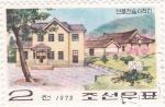 Stamps North Korea -  Casas típicas