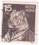 Stamps India -  Tigre de Bengala