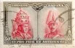 Sellos de Europa - España -  80 céntimos 1928
