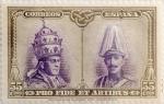 Sellos de Europa - España -  55 céntimos 1928