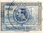 Sellos de Europa - España -  40 céntimos 1929