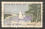 Sellos de Europa - Francia -  1312 - Clement Serveau Arcachon