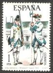 Stamps Spain -  2236 - Uniforme militar Sargento y Granadero de Toledo