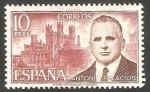 Sellos de Europa - España -  2242 - Antonio Palacio