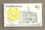 Stamps Asia - Thailand -  Centenario de Correos y Escuela de Telecomunicaciones