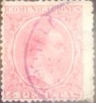 Sellos del Mundo : Europa : España : Intercambio  jn 47,50 usd 4 pesetas 1889