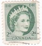 Sellos de Oceania - Canadá -  Isabel II