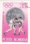 Stamps Romania -  Munich-72 Boxeo