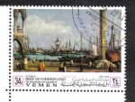 Sellos de Asia - Yemen -  Canaletto