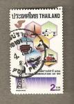 Stamps Thailand -  Día Nacional de las Comunicaciones