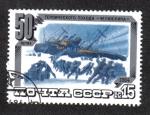 Sellos de Europa - Rusia -  50 Años De Campaña Heroica Chelyuskina