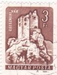 Stamps Hungary -  Panorámica de Cseszneki vár