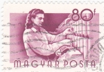 Stamps Hungary -  Obrera