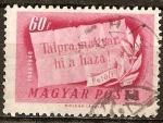 Sellos de Europa - Hungría -  Centenario de la insurrección.