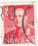 Stamps : Europe : Norway :  Rey  Olaf V