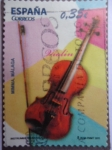 Stamps Spain -  Instrumentos Musicales - Violín