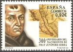 Sellos de Europa - España -  300  ANIVERSARIO  DEL  NACIMIENTO  DE  FRAY  JUNÌPERO  SERRA