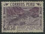 Sellos de America - Perú -  S464 - Andenes de Pisac. Cuzco