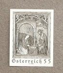 Stamps Austria -  Navidad 2007
