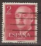 Sellos de Europa - España -  ESPAÑA SEGUNDO CENTENARIO USD Nº 1157 809 2 P ROJO FRANCO.