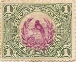 Stamps America - Guatemala -  Un centavo