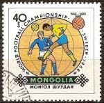 Sellos del Mundo : Asia : Mongolia : Campeonato mundial de fútbol-Suecia 1958-.