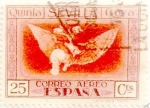 Stamps Spain -  25 céntimos 1930