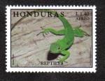 Sellos del Mundo : America : Honduras :  Reptiles