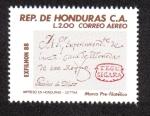 Stamps Honduras -  EXFILHON 88